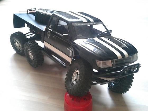 SCX10 Honcho 6x6